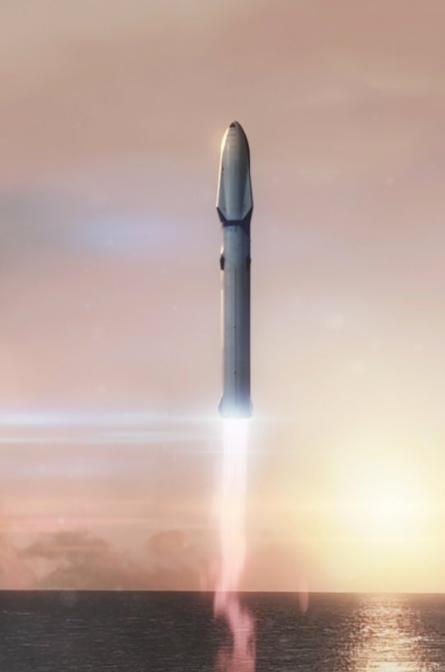 прошлогодний запуск ракеты SpaceX