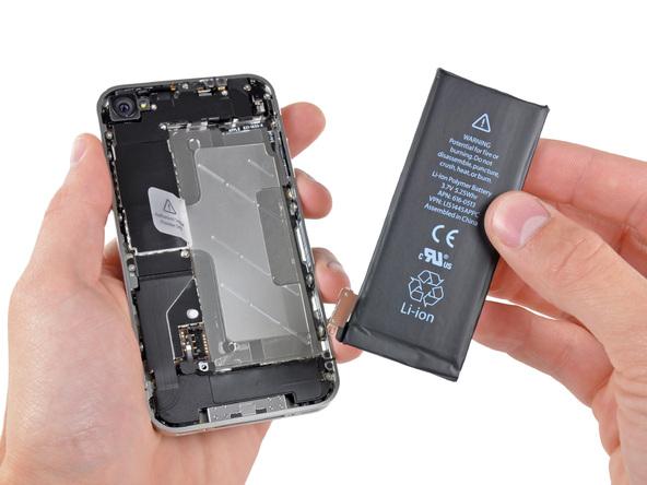 замена аккумулятора на айфоне