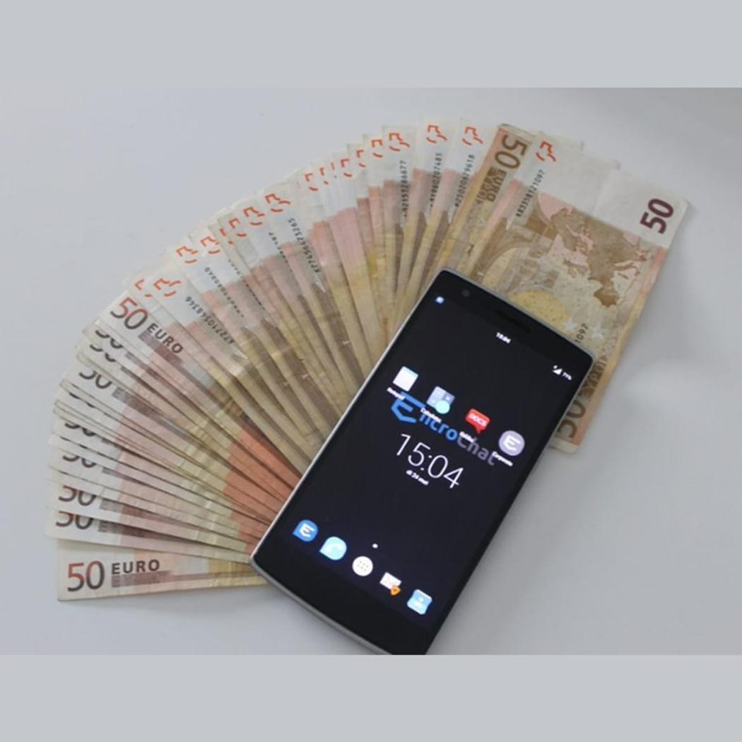 шифрованный телефон и деньги